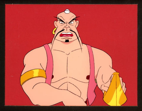 "Original production cel -""Sinbad""- by Golden Films 316 MATTED"