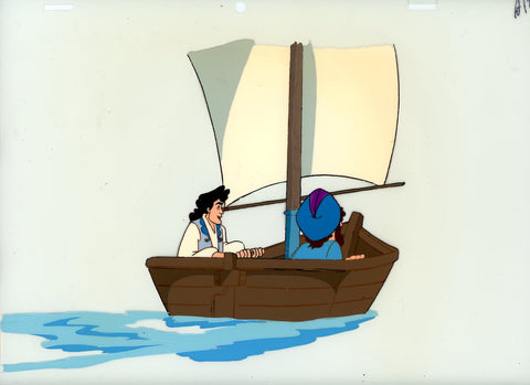 "Original production cel -""Sinbad""- by Golden Films 328 LARGE"