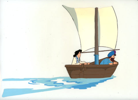 "Original production cel -""Sinbad""- by Golden Films 332 LARGE"