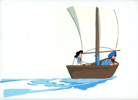 "Original production cel -""Sinbad""- by Golden Films 339 LARGE"