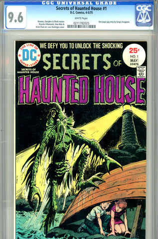 Secrets of Haunted House #1 CGC graded 9.6 - white pages SOLD!