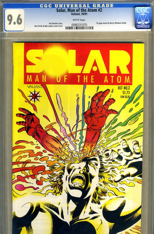 Solar, Man of the Atom #02   CGC graded 9.6 - first in costume