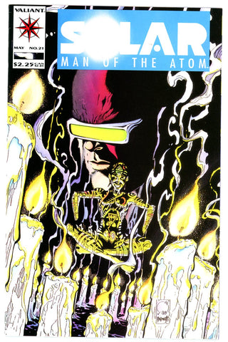 Solar, Man of the Atom #21 VERY FINE (five copies)