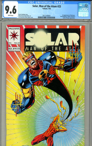 Solar, Man of the Atom #23 CGC graded 9.6 - first Destroyer