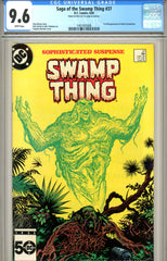 Saga of the Swamp Thing #37 CGC graded 9.6 first Constantine