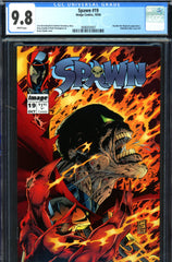 Spawn #19 CGC graded 9.8 - Houdini Magician appearance