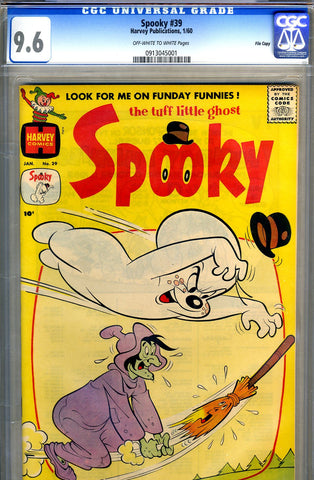 Spooky #39   CGC graded 9.6 - SOLD!