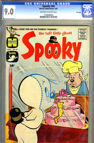 Spooky #56   CGC graded 9.0 - SOLD!