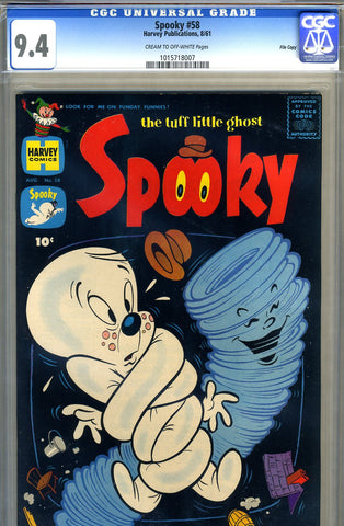 Spooky #58   CGC graded 9.4 - SOLD!