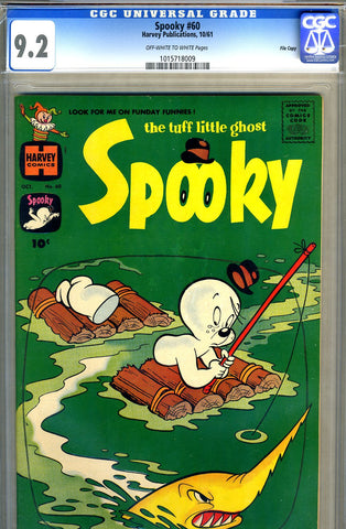 Spooky #60   CGC graded 9.2 - SOLD!