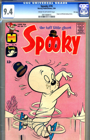 Spooky #78   CGC graded 9.4 - SOLD!