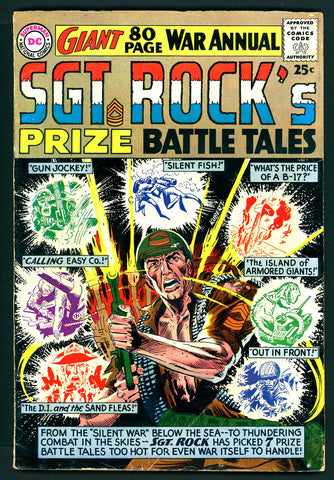 Sgt. Rock's Prize Battle Tales #1   G/VERY GOOD   1964