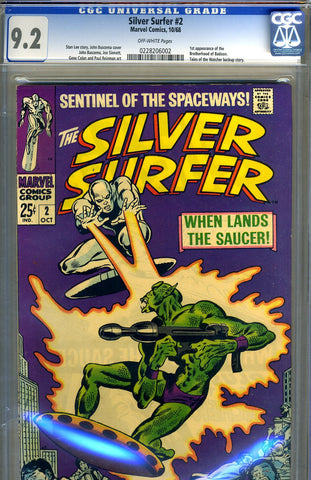 Silver Surfer #02   CGC graded 9.2 - SOLD