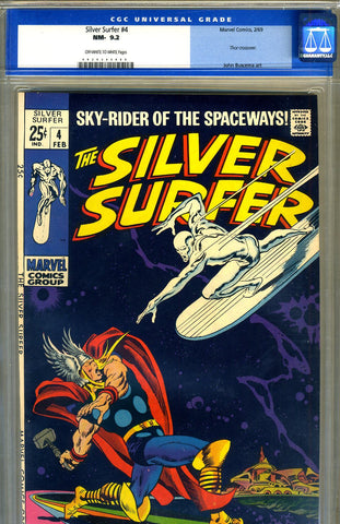 Silver Surfer #04   CGC graded 9.2 - SOLD