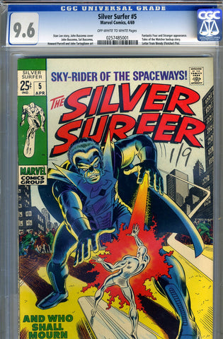 Silver Surfer #05   CGC graded 9.6 - SOLD!