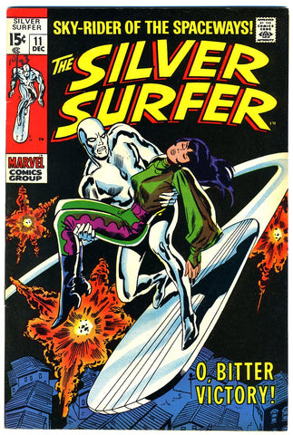 Silver Surfer #11  VERY FINE+   1969
