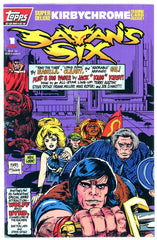 TOPPS - Satan's Six #1 (one-shot) polybagged w/chromium card NM  (two copies)