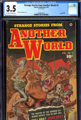 Strange Stories From Another World #2 CGC graded 3.5