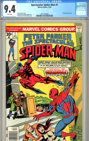 Spectacular Spider-Man #01 CGC graded 9.4 SOLD!