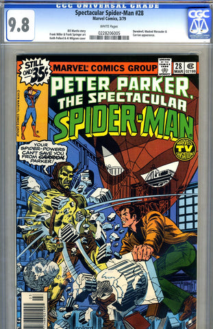 Spectacular Spider-Man #28   CGC graded 9.8 - HG - SOLD!