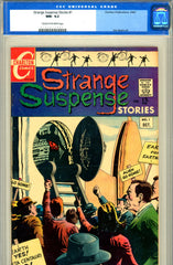 Strange Suspense Stories #1  CGC graded 9.2  SINGLE HIGHEST GRADED