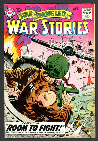 Star Spangled War Stories #077   FINE-   1959