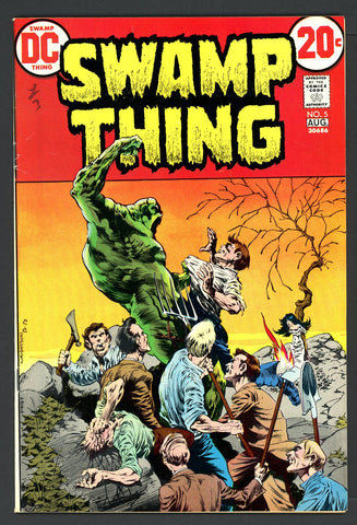 Swamp Thing #05   VERY FINE+   1973
