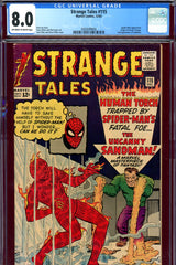 Strange Tales #115  CGC graded 8.0  origin of Dr. Strange