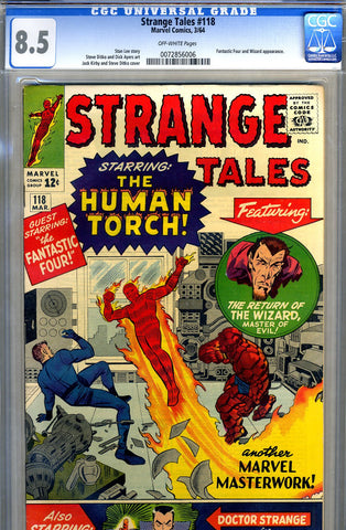 Strange Tales #118   CGC graded 8.5 - SOLD