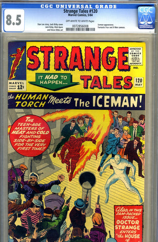 Strange Tales #120   CGC graded 8.5 - SOLD