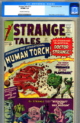 Strange Tales #121   CGC graded 9.0 - SOLD!