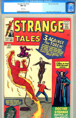 Strange Tales #122   CGC graded 9.4  white pages