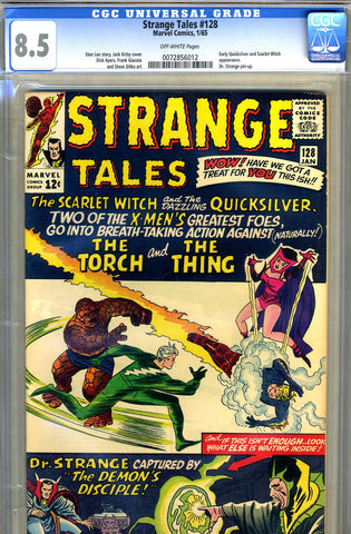 Strange Tales #128   CGC graded 8.5 - SOLD
