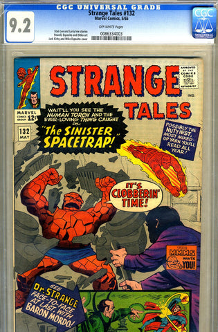 Strange Tales #132   CGC graded 9.2 - SOLD