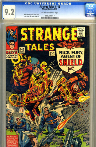 Strange Tales #142   CGC graded 9.2 - SOLD