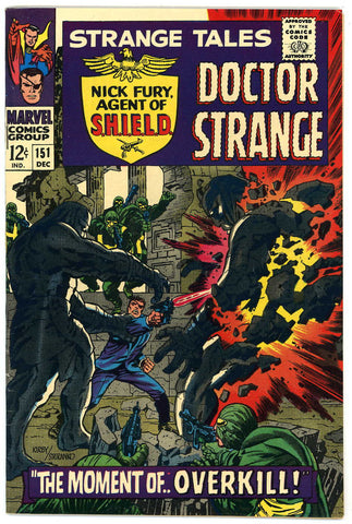 Strange Tales #151   VF/NEAR MINT   1966