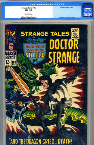 Strange Tales #163   CGC graded 9.4 - SOLD