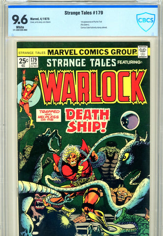 Strange Tales #179 CBCS 9.6 - first Pip the Troll - SOLD!