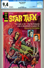 Star Trek #19 CGC graded 9.4 (Gold Key) white pages