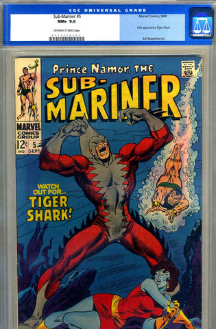Sub-Mariner #05   CGC graded 9.6 - SOLD!