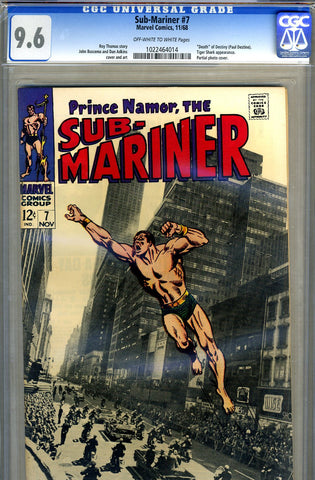 Sub-Mariner #07   CGC graded 9.6 - SOLD!