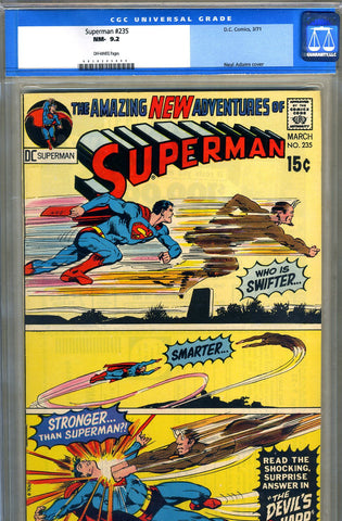 Superman #235   CGC graded 9.2 - SOLD!