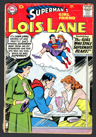 Superman's GF, Lois Lane #07   G/VERY GOOD   1959