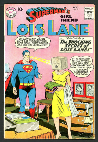 Superman's GF, Lois Lane #13   FINE-   1959