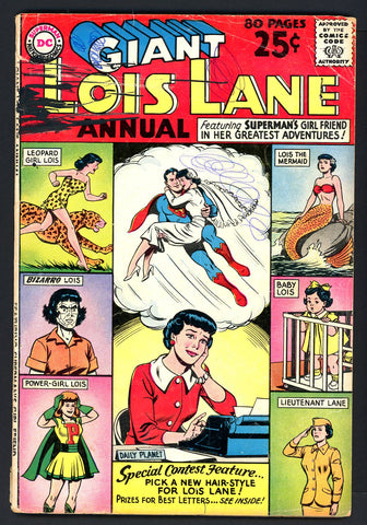 Superman's GF, Lois Lane Annual #1   VERY GOOD   1962