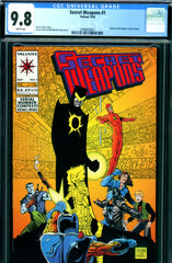 Secret Weapons #1 CGC graded 9.8 - First Dr. Eclipse
