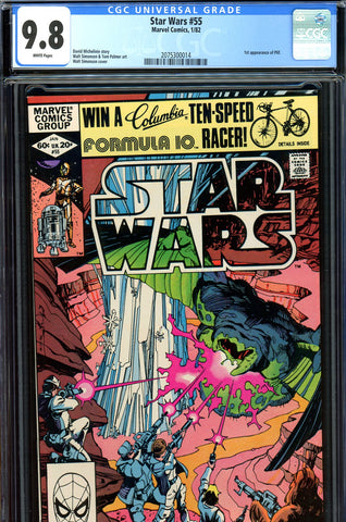 Star Wars #55 CGC graded 9.8 - first Plif - SOLD!