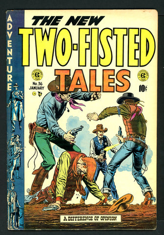 Two-Fisted Tales #36   FINE   1954