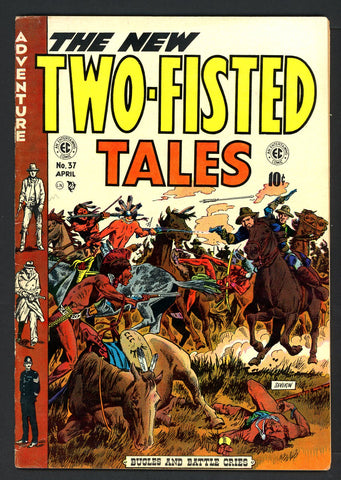 Two-Fisted Tales #37   FINE   1954