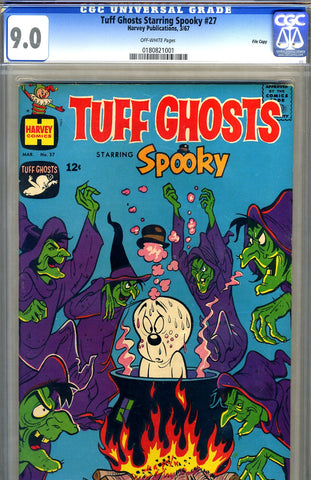 Tuff Ghosts starring Spooky #27   CGC graded 9.0 - SOLD!